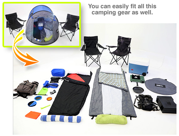 Fit Any Camping Gear