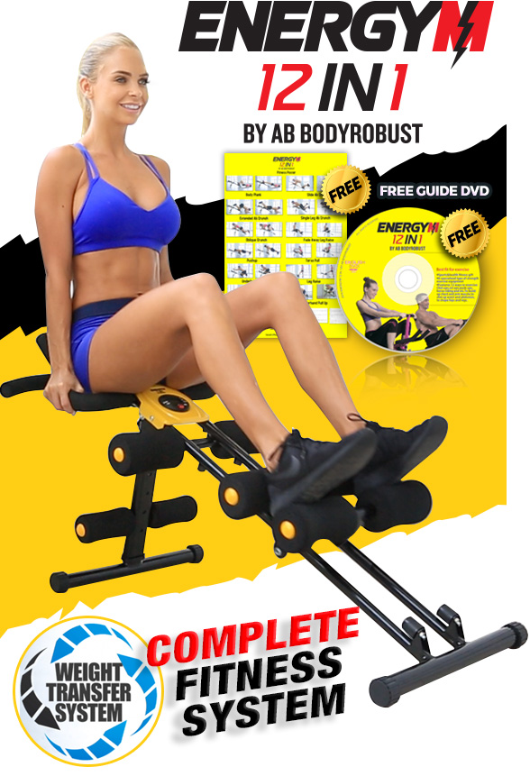 Energym 12 in 1 Complete Fitness System