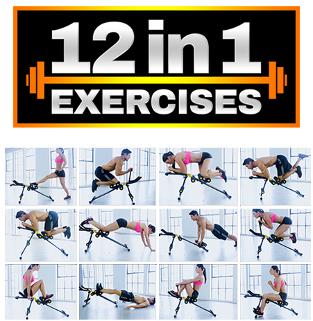 Energym 12 in 1 Exercises
