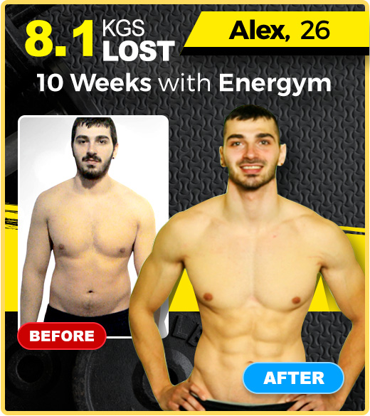 Energym 12 in 1 lost weight result
