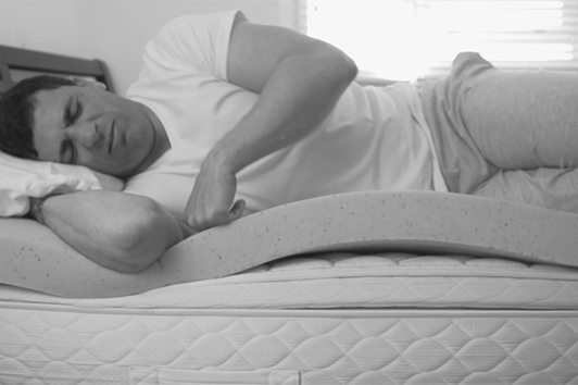 Stop waking up tired, spending the night tossing and turning, and having a bad sleep from snoring or moving