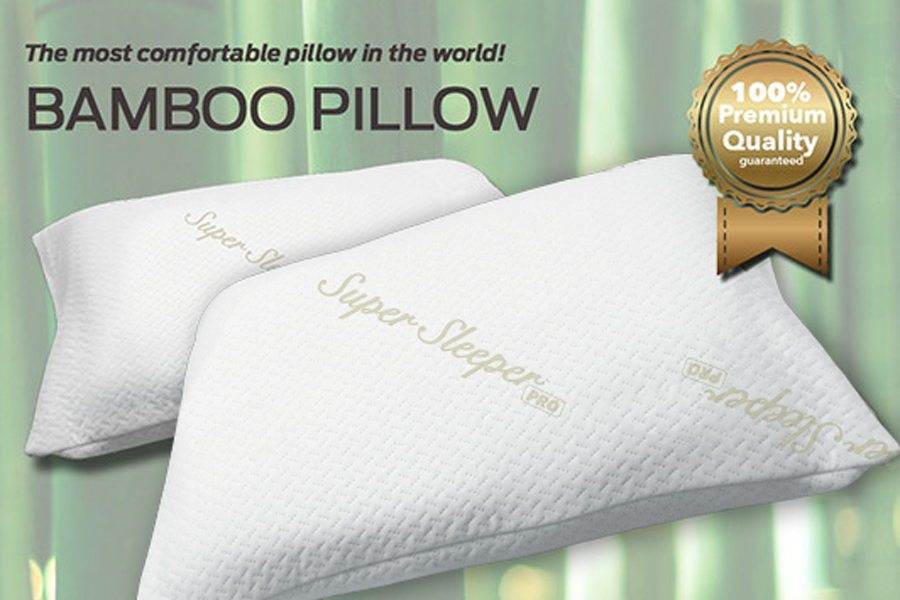 The worlds most comfortable bamboo fabric pillow