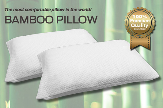 The Bamboo Pillow is a value for money pillow, with a comfortable, quality design, making it a cheap, popular alternative