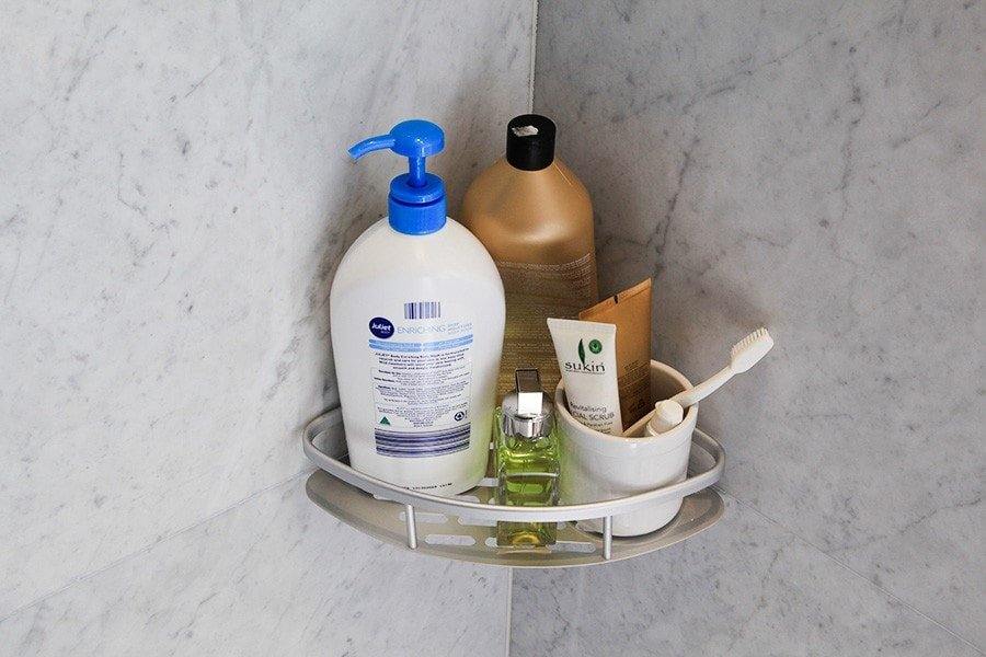 Bathroom Corner Shelf