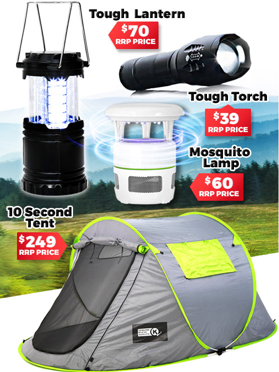 10 Second Tent