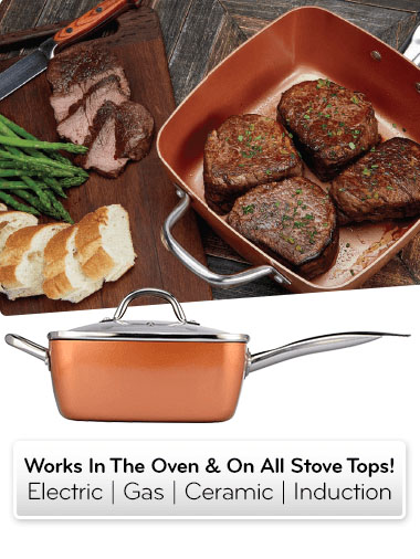 Copper Chef Ceramic Fry Pan