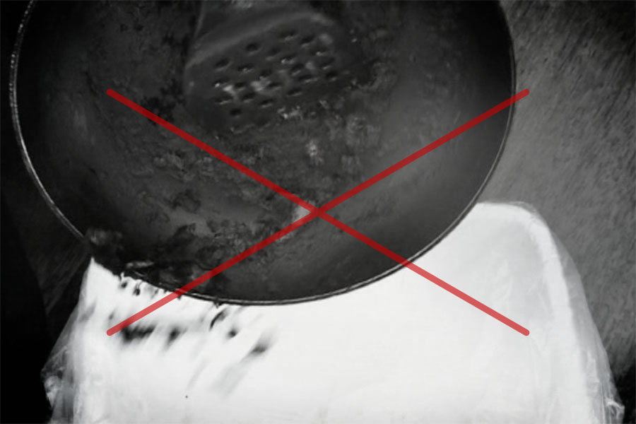 Forget Toxic Black Flaky Pans