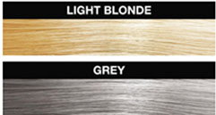 Shake in the Light Blonde colour Hollywood Hair Fibre