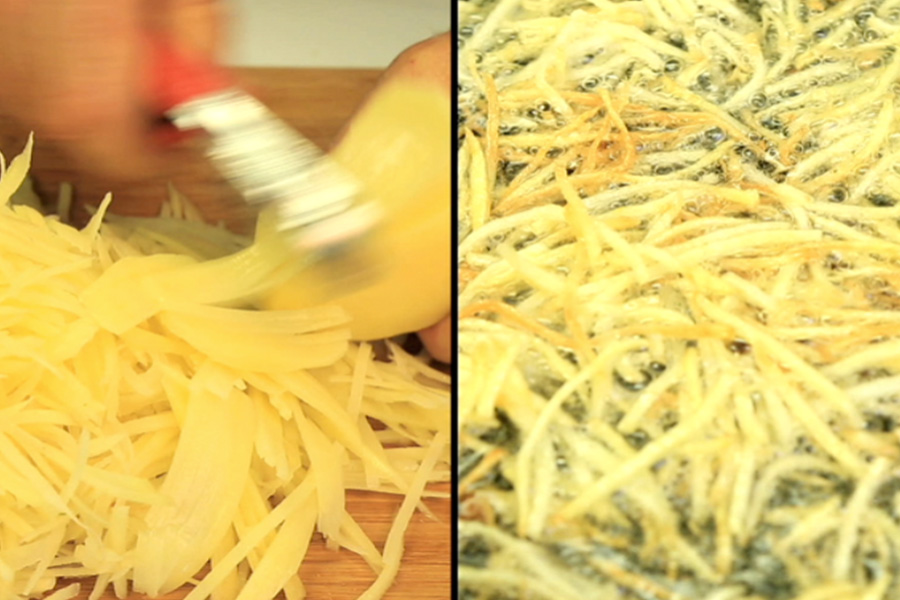 MAKE YOUR OWN FRIES!