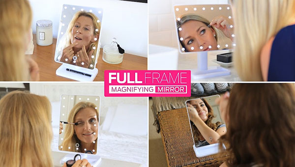 With a 10x magnifying mirror suction attachment that is small, portable and travel sized, you will always have the perfect makeup and skincare routine