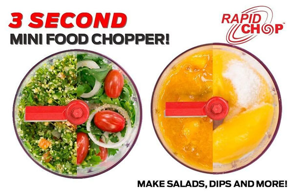 Kleva Rapid Chop: The Best Pull and Chop Food Chopper