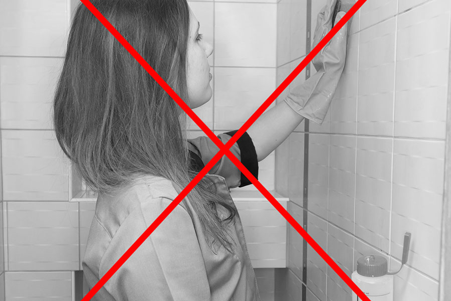 With the reach and clean, no more hands on hard work just to clean tiles, grout and limescale