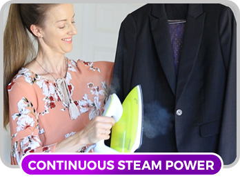 continuous steam power