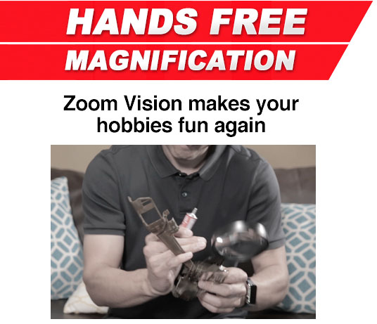 Zoom Vision hands Free Magnification